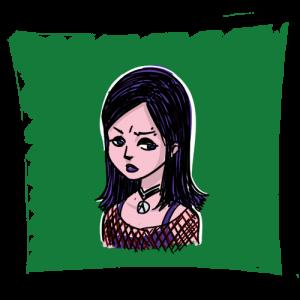 Goth girl hairstyles