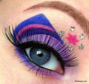 Raver Girl Make Up